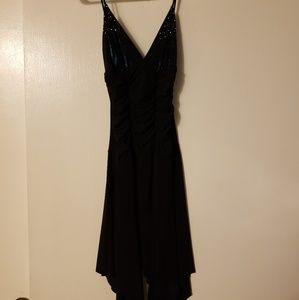 Short Asymmetrical Dress